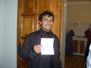 Rasul Kudaev, shortly before his arrest in 2005, courtesy of Amnesty International